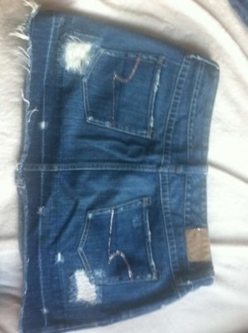 American Eagle Outfitters Mini Skirt Jean and pink