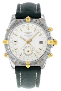 Breitling Breitling Windrider Duograph B15047 Two-tone Stainless Automatic Men's Watch (6964)