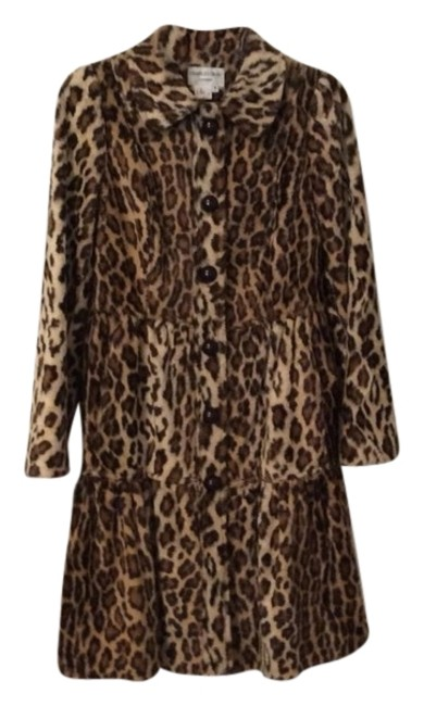 Item - Brown and Camel Coat Size 6 (S)