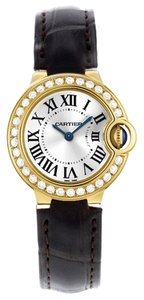 Cartier Cartier Ballon Bleu WE900151 18k Yellow Gold Factory Diamond Quartz Women's Watch (6523)