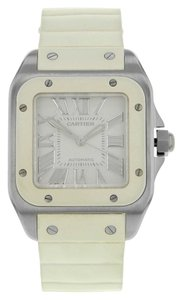 Cartier Cartier Santos 100 W20122U2 Stainless Steel Automatic Ladies Watch (8068)