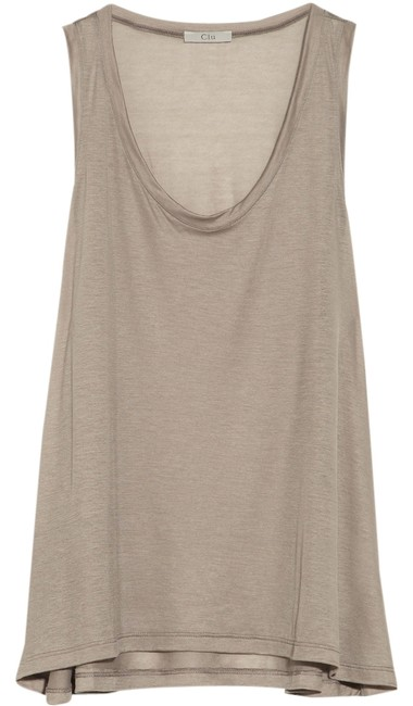 Preload https://item3.tradesy.com/images/clu-taupe-jersey-tank-topcami-size-4-s-1280657-0-0.jpg?width=400&height=650