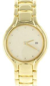 Ebel Ebel Beluga 884960 18K Yellow Gold & Diamonds Quartz Watch (6072)
