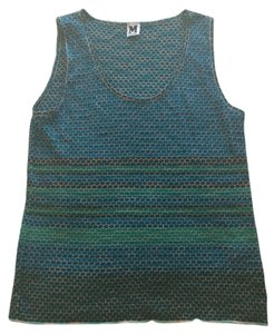 Missoni Chic Never Worn Top blue muticolor
