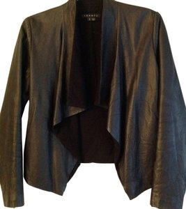 Theory Black leather Leather Jacket
