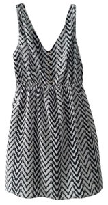 Coolwear short dress Black and White on Tradesy