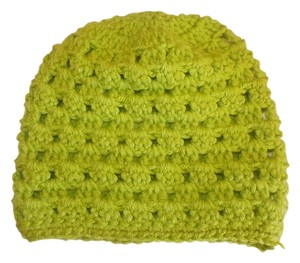 Other NEW unisex Handmade green Crochet Beatiful Hat 14x7 NCHES size s