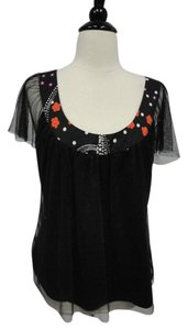 Vivienne Tam Nylon Top Black