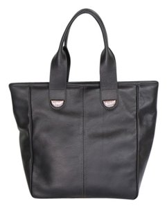 Lara Hélène Crystal Accents Tote in Black