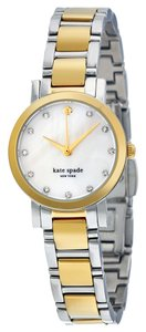 Kate Spade KATE SPADE Gramercy Mini Mother of Pearl Dial Two-tone Ladies Watch