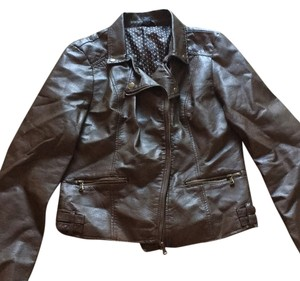 Rue 21 Brown Leather Jacket
