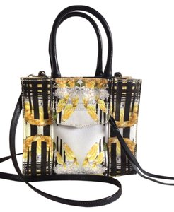 Rebecca Minkoff Leather Mini Satchel in Floral
