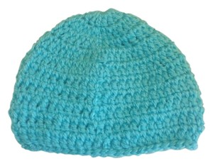Other NEW unisex size 6-9 months Handmade blue Crochet Beatiful Hat 10x5 NCHES