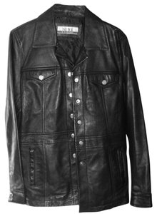 Nine & Co. Geniune 100% Leather Leather Jacket