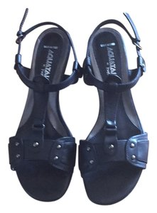 Aquatalia by Marvin K. black Sandals