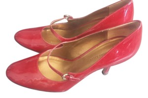 Anne Klein Dark Red Patent Pumps