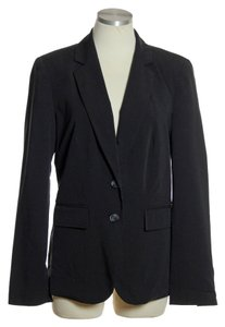 Worthington Two-button Lined Black Blazer