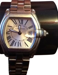 Cartier Roadster Women's watch Authentic Stainless Steel Water Resistant 100M 330ft 215616LX 2675
