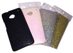 Glitter HTC ONE M7 Protective Case - Set of 4