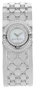 Gucci Gucci The Twirl 112 YA112512 Steel & Diamonds Quartz Watch (8541)