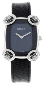 Gucci Gucci 117 Horsebit Cocktail YA117505 Stainless Steel Watch (9693)