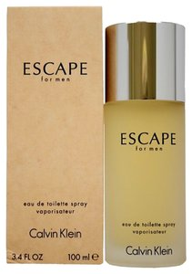 Calvin Klein ESCAPE by CALVIN KLEIN Eau de Toilette Spray for Men 3.4 oz / 100 ml. *Brand New.*