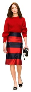 Burberry Prorsum Valentino Gucci Skirt Red