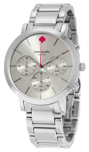 Kate Spade KATE SPADE Gramercy Grand Chronograph Silver Dial Stainless Steel Ladies Watch