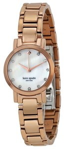 Kate Spade KATE SPADE Gramercy Mini Mother of Pearl Dial Rose Gold-plated Steel Ladies Watch