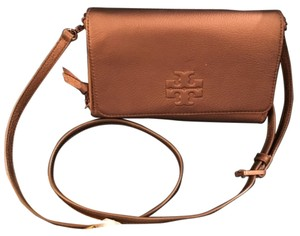 Tory Burch bronze brown Clutch