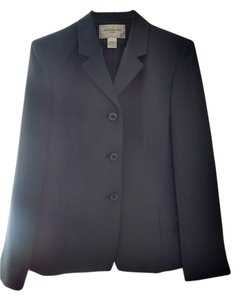 Jones New York Blue Polka Dot Jones New York Blue Polka Dot Suit Jacket