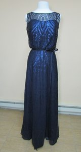 Angelina Faccenda Navy 20478 Dress