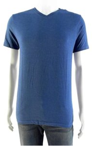 Mossimo Supply Co. Men Women Junior Boy Girl Blue Royal Blue Slim Fit Neck Sale Clearance Hot Jean Sexy Reduced Deal Coach Stretch Trend T Shirt Glacier Blue