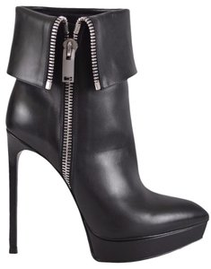 Saint Laurent Ankle Black Boots