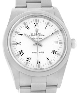 Rolex Rolex Oyster Perpetual Air King White Dial Oyster Bracelet Watch 14000