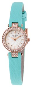 Kate Spade KATE SPADE Tiny Metro Mother of Pearl Dial Leather Ladies Watch