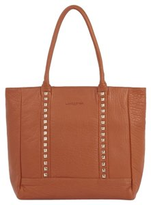 Lancaster Leather Tote in Wild Rock Gold