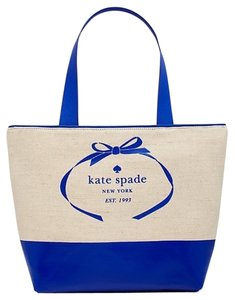 Kate Spade Tote in Natural Island Deep