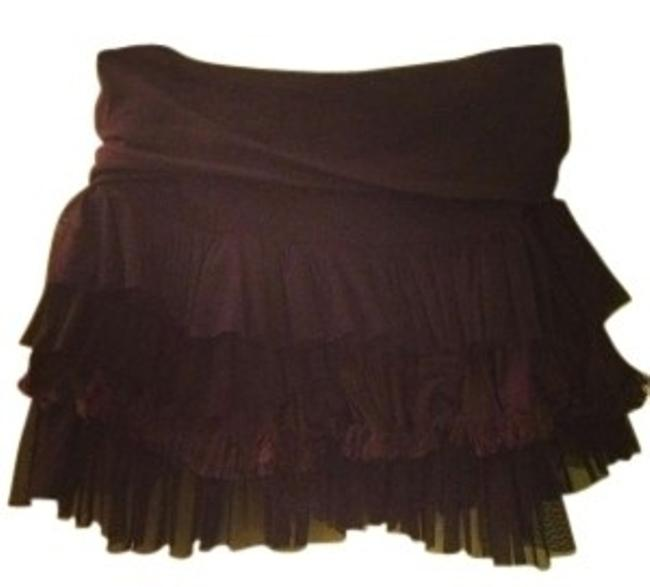 Preload https://item2.tradesy.com/images/free-people-black-ruffled-miniskirt-size-2-xs-26-128141-0-0.jpg?width=400&height=650
