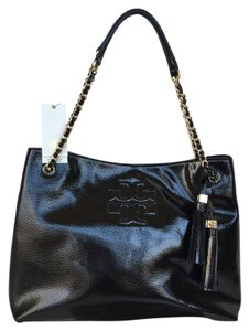 Tory Burch Leather Patent Shoulder Bag