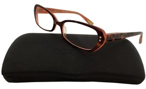Paul Smith (EXCELLENT CONDITION-SHIP TODAY) Auth Paul Smith Eye Glasses Frame with case brown