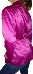 Calvin Klein Collection Blazer Suit Work Top Fushia Pink Purple
