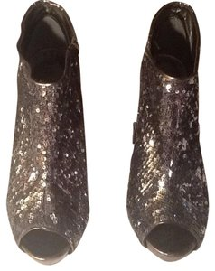 Fahrenheit Pewter/Silver Boots