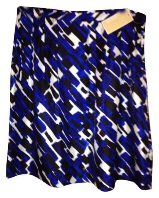 Michael Kors Skirt Multi (black/white/blue)