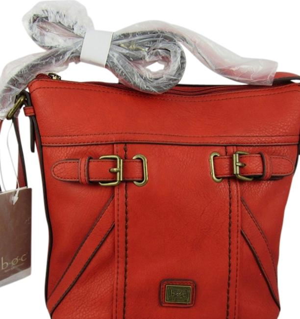 Item - Tote Strap Buckle Small Red Patent Leather Cross Body Bag