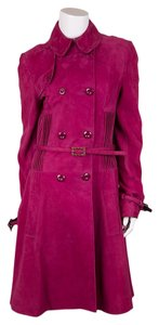 Dior Fuschia Leather Jacket