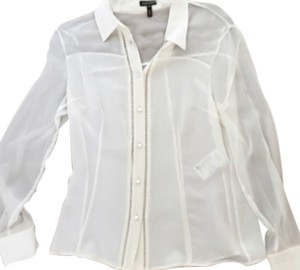 Escada Top Off white