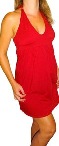 Victoria's Secret short dress Deep Red Victorias Victoria on Tradesy