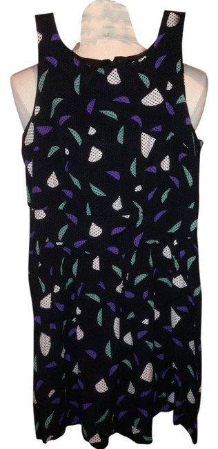 Urban Outfitters short dress Multi Colors Black Size 2 on Tradesy
