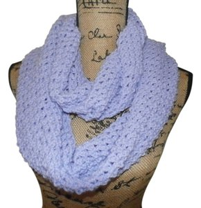 Other new infinity Handmade Crocheted Scarf lavander 100% ACRILIC 64x9 INCHES